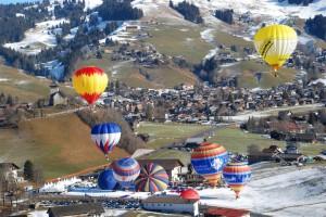 Die Alpen, Ballonfahren